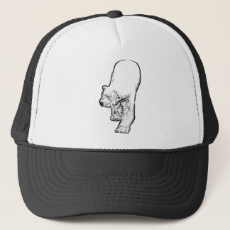 Polar Bear Prowling Trucker Hat