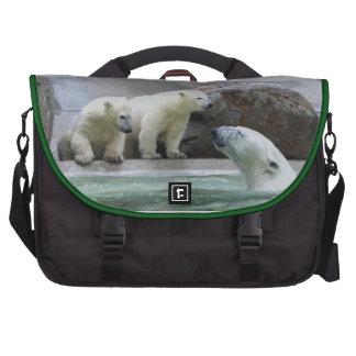 Polar Bear Rickshaw Commuter Laptop Bag