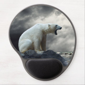 Polar Bear Roaring Gel Mouse Pad