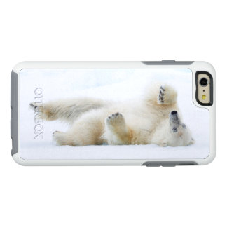 Polar bear rolling in snow, Norway OtterBox iPhone 6/6s Plus Case