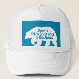 Polar Bear Saying Trucker Hat