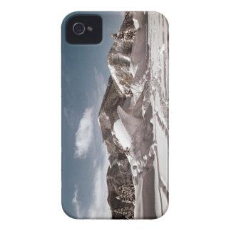 Polar Bear Snow Sculpture iPhone 4 Case-Mate Cases
