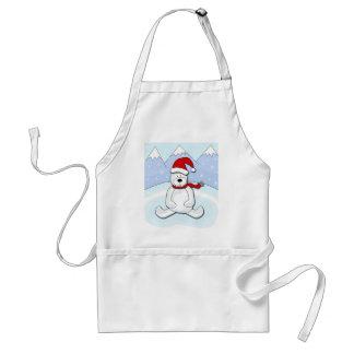 Polar bear standard apron