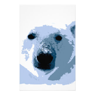 Polar Bear Customized Stationery