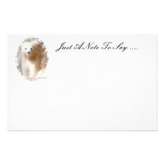 Polar Bear Customised Stationery
