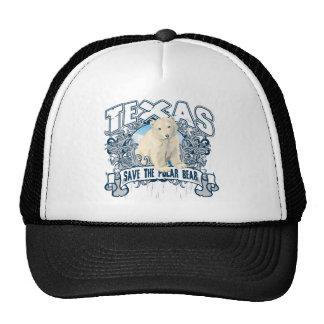 Polar Bear Texas Trucker Hat