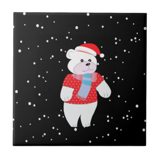 polar bear tile