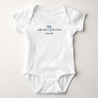 Polar-bear Toenails Baby Bodysuit