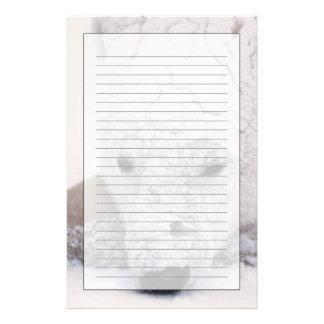 Polar Bear Urus Maritimus Arctic Churchill Stationery