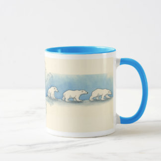 Polar Bear Walk Mug