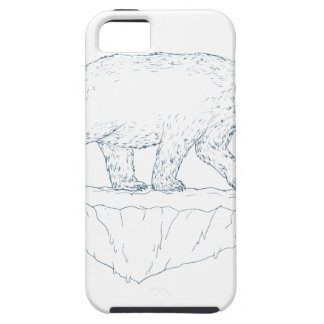 Polar Bear Walking Iceberg Ukiyo-e Case For The iPhone 5