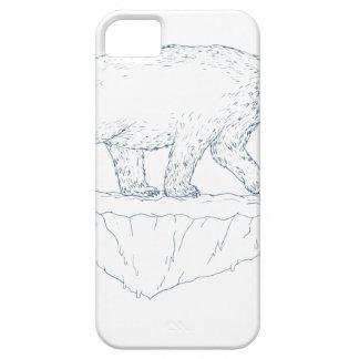 Polar Bear Walking Iceberg Ukiyo-e iPhone 5 Covers