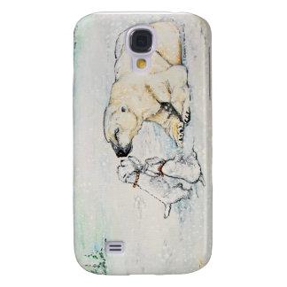 Polar Bear Westies Galaxy S4 Cover