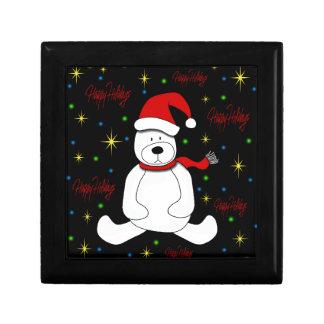 Polar bear - Xmas design Gift Box