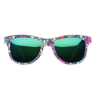 89478be7c65 Polar bears and snowflakes and hearts sunglasses