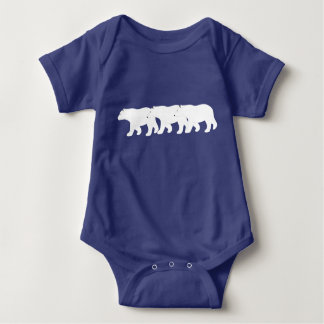 Polar Bears Baby Bodysuit