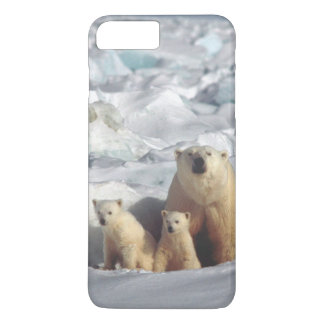 Polar Bears Cubs Arctic Wildlife iPhone Case