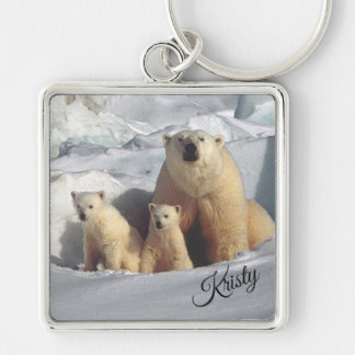 Polar Bears Key Ring
