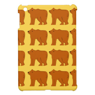 Polar bears on Gold iPad Mini Covers