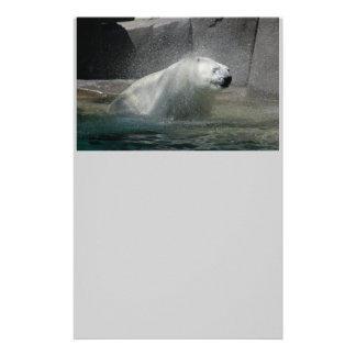 Polar Bears Customized Stationery