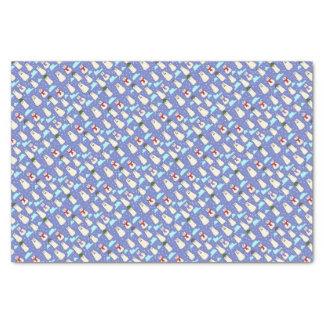 polar bears tissue paper