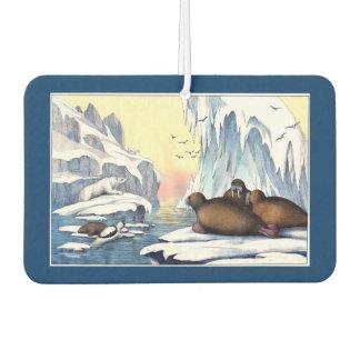 Polar Bears, Walrus, and Seals Car Air Freshener