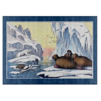 Polar Bears, Walrus, and Seals Cutting Board