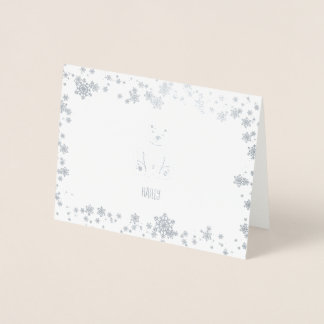 Polar Friends Foil Card