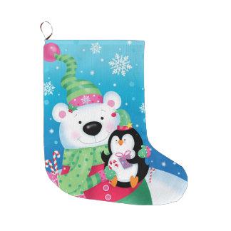 Polar Friends Stocking