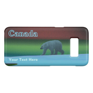 Polar Lights Polar Bear Case-Mate Samsung Galaxy S8 Case