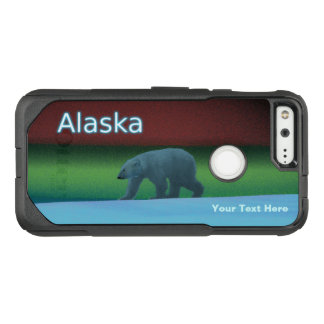 Polar Lights Polar Bear OtterBox Commuter Google Pixel Case