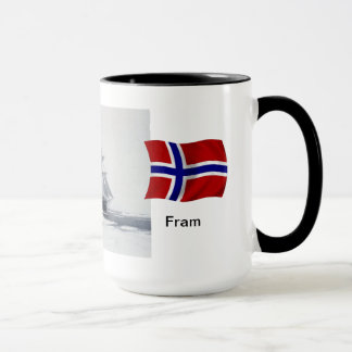 "Polar region ""Fram"" in the ice Mug"