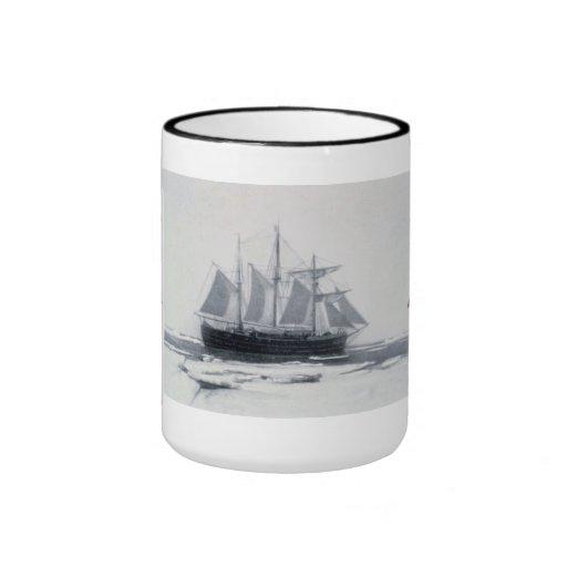 "Polar region ""Fram"" in the ice Coffee Mugs"
