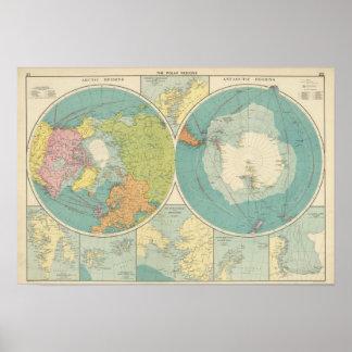 Polar Regions Poster