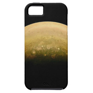 Polar View of jupiter Case For The iPhone 5