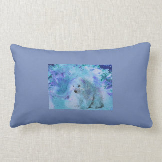 Polarbear Cushion, Blue Cushion