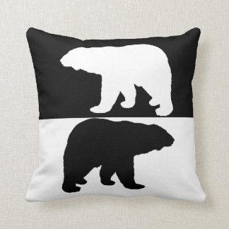 Polarbear Throw Pillow