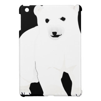 PolarBearCubBlackSF Case For The iPad Mini