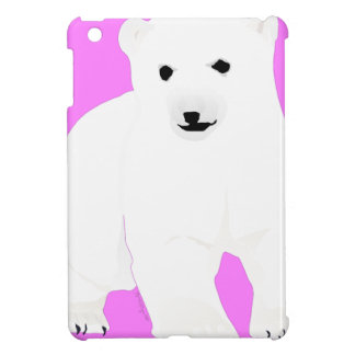 PolarBearCubPinkSF Case For The iPad Mini