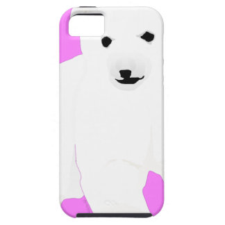 PolarBearCubPinkSF Case For The iPhone 5