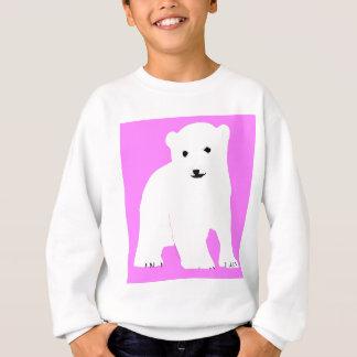 PolarBearCubPinkSF Sweatshirt