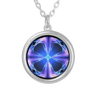 Polaris Silver Plated Necklace