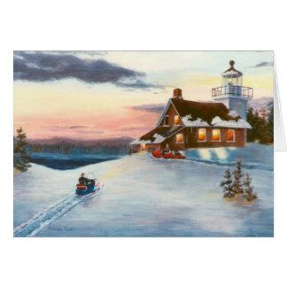 Polaris Sunset Blank Card