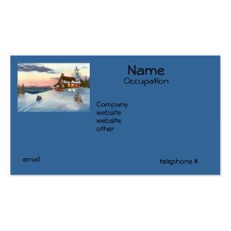 Polaris Sunset Business Cards