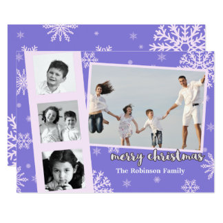 Polaroid Photo Frame Custom Christmas Card 13 Cm X 18 Cm Invitation Card