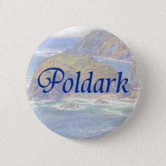 Poldark 6 Cm Round Badge