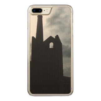 Poldark Country Mine Ruins Cornwall England Carved iPhone 7 Plus Case