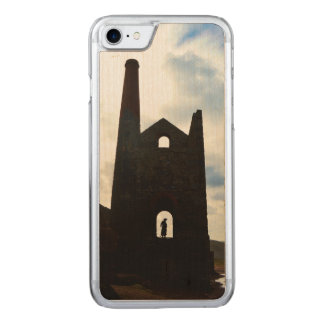 Poldark Country Mine Ruins Cornwall England Carved iPhone 8/7 Case
