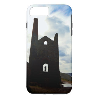 Poldark Country Mine Ruins Cornwall England iPhone 8 Plus/7 Plus Case