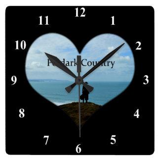 Poldark Country Photo Cornwall England Wall Clock